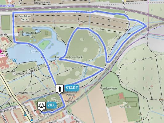 5km-Strecke