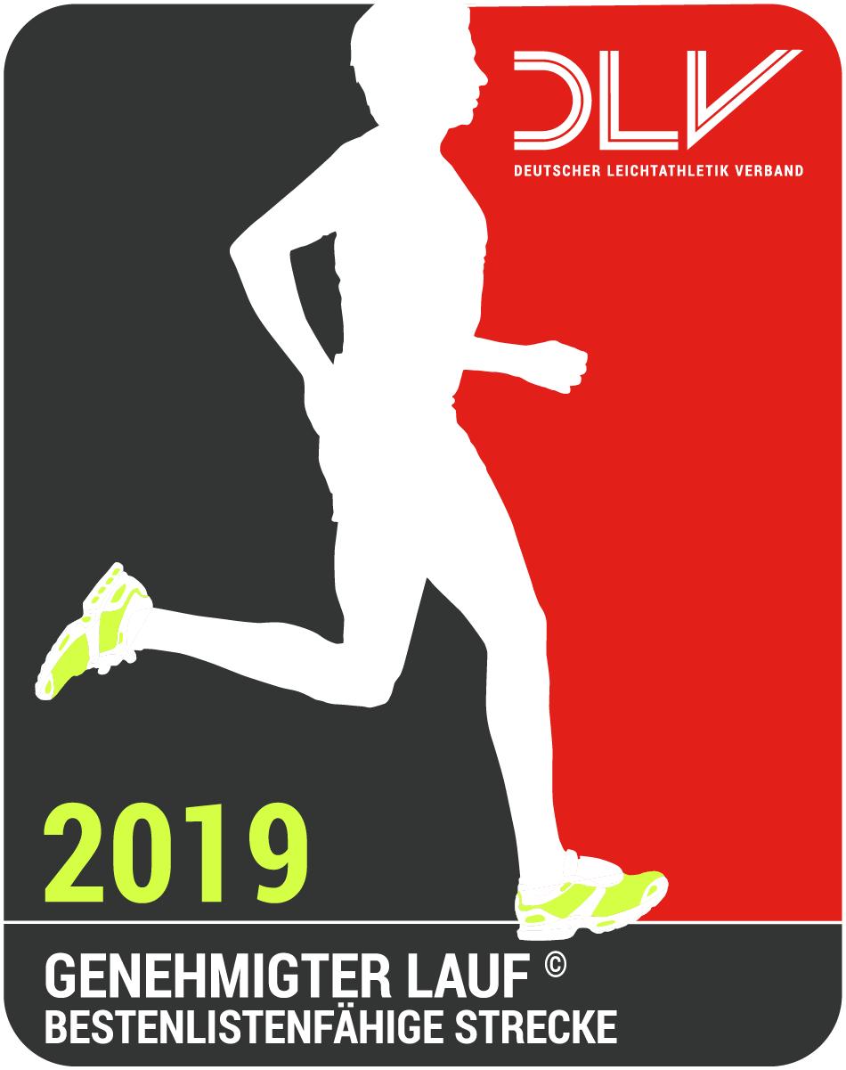 Logo DLV genehmigter Lauf 2018